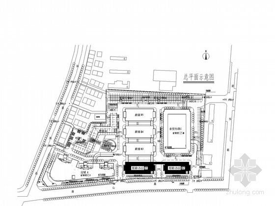 [江西]多栋多层商业建筑给排水消防施工图设计