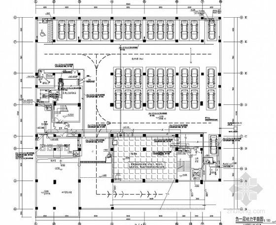 [安徽]重点工程-综合档案馆电气全套施工图最新(含智能化设计)