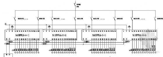 游泳馆和操场照明配电箱系统图