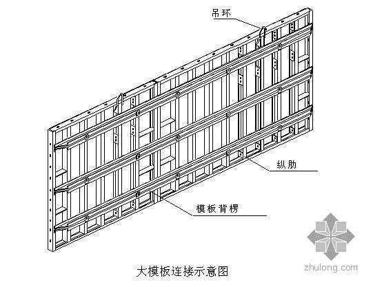 天津某高层大钢模板施工方案