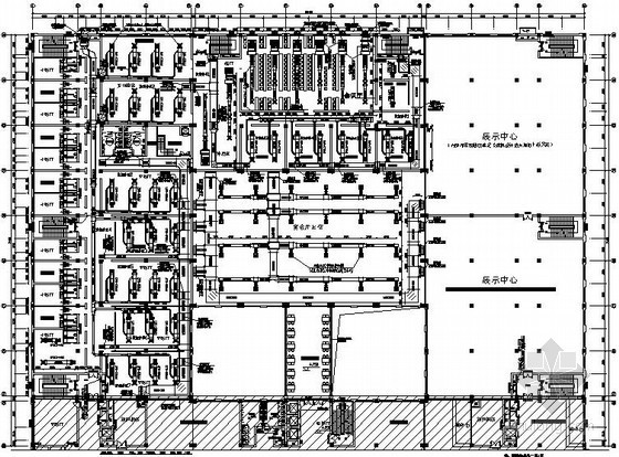 VAV空调设计图纸资料下载-[江苏]六层酒店空调通风设计图纸