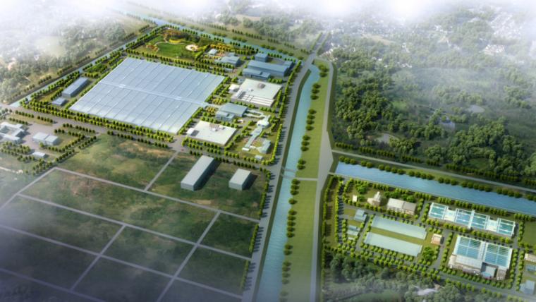 上海石洞口污水处理厂提标改造EPC工程BIM汇报