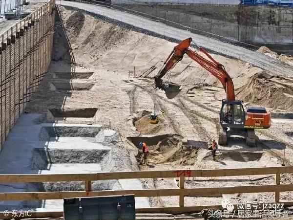 市政工程施工中,较深基坑开挖施工方案