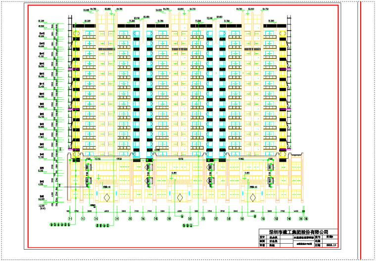 框架剪力墙结构商品住宅及商铺项目悬挑外架施工方案(附脚手架平面图)