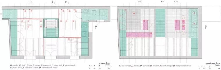 不足60㎡的小空间,如何设计能做到处处高逼格?_22