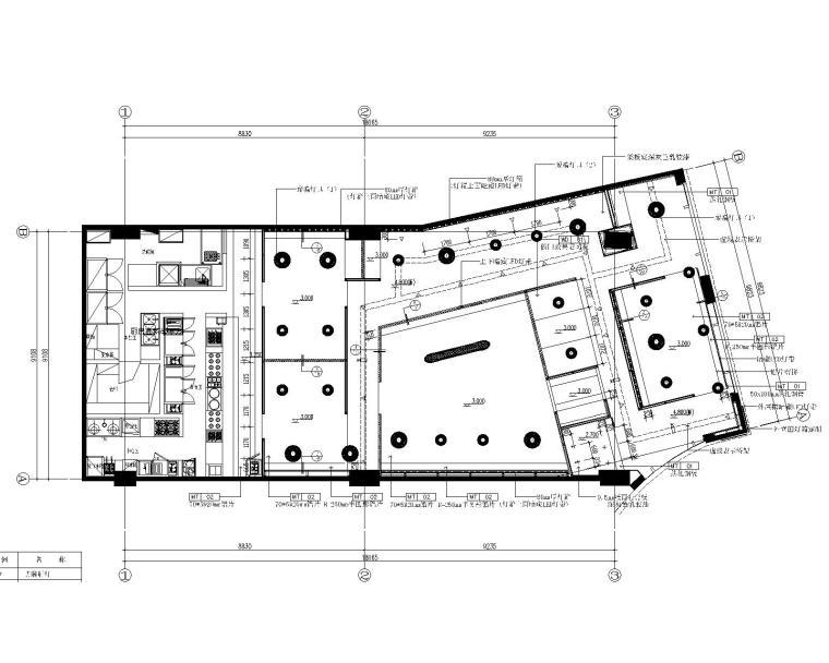 [内建筑]味千拉面上海西郊百联店丨方案+效果图+施工图+机电图