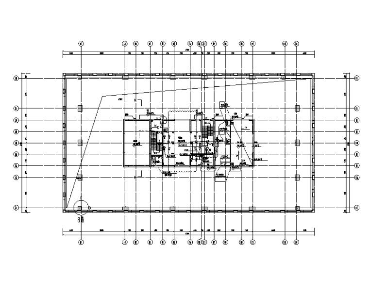 深圳万科裙房塔楼电气施工图(强弱电、消防、人防、含地下室)