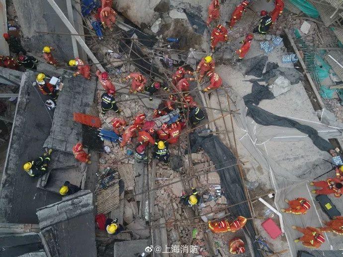10人死亡15人受傷!上海廠房坍塌事故現場搜救工作已基本完成!