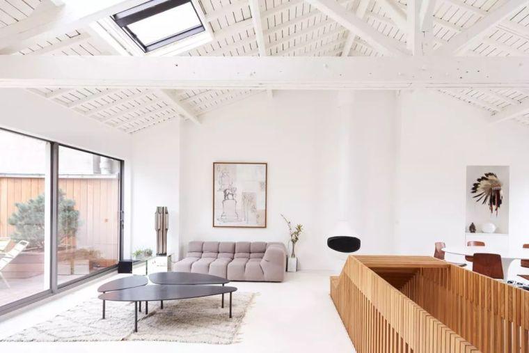 巴黎Loft阁楼公寓改造设计