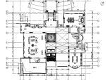 欧式风格别墅样板间室内设计施工图(含效果图)