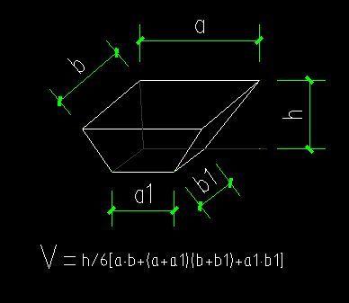 基坑土方量计算公式