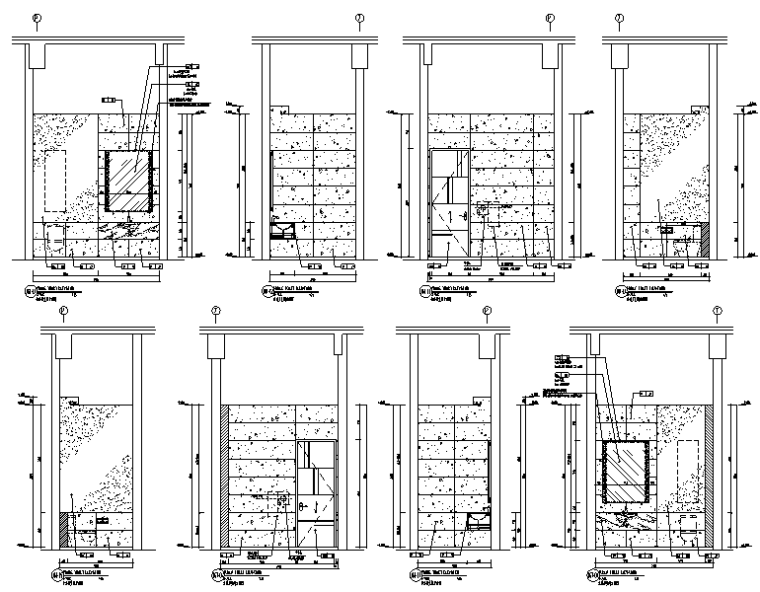 [山东]CCD-青岛酒店设计施工图(附效果图+物料表)