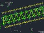 24m跨钢桁架标准设计图