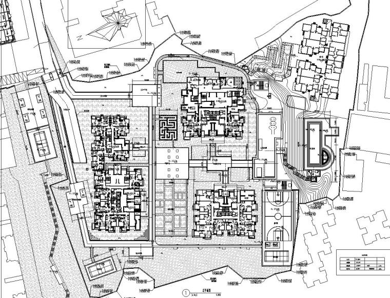 [西九]某居住区景观设计全套施工图(包含+60个CAD)