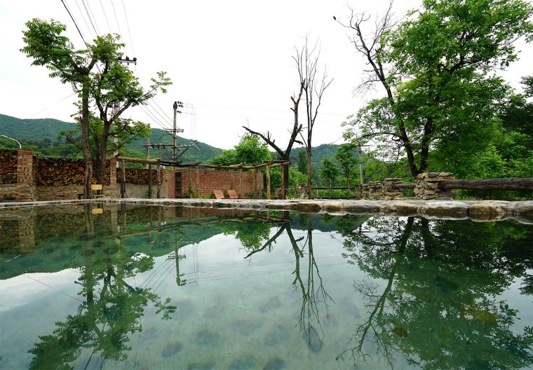 北京擦石口村上的民宿