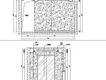 黑白灰现代简约复式住宅空间设计施工图(附效果图)