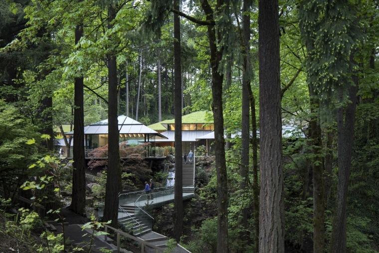 波特兰日本庭院文化村