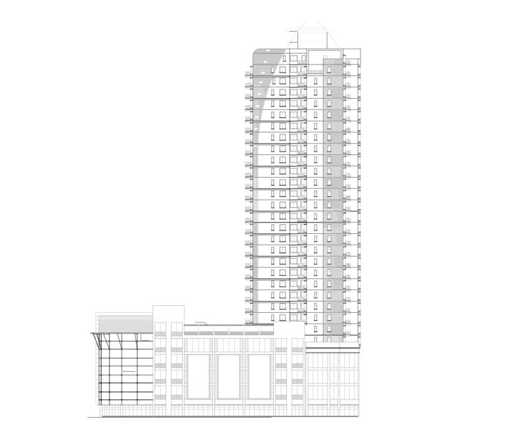 32层高层住宅建筑_1