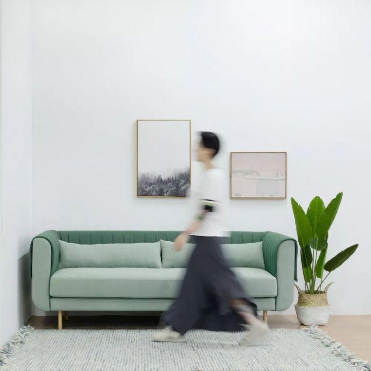 你不知道的客厅彩色沙发,给你不一样的格调。_10
