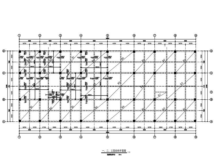 4层框架结构商场毕业设计(计算书、施工组织设计、建筑结构施工图)
