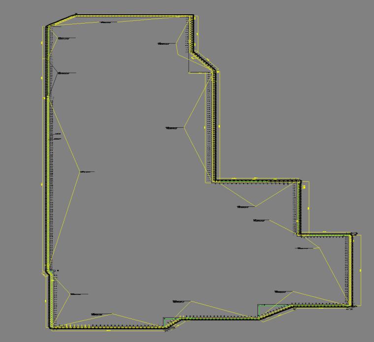 基坑围护总平面图