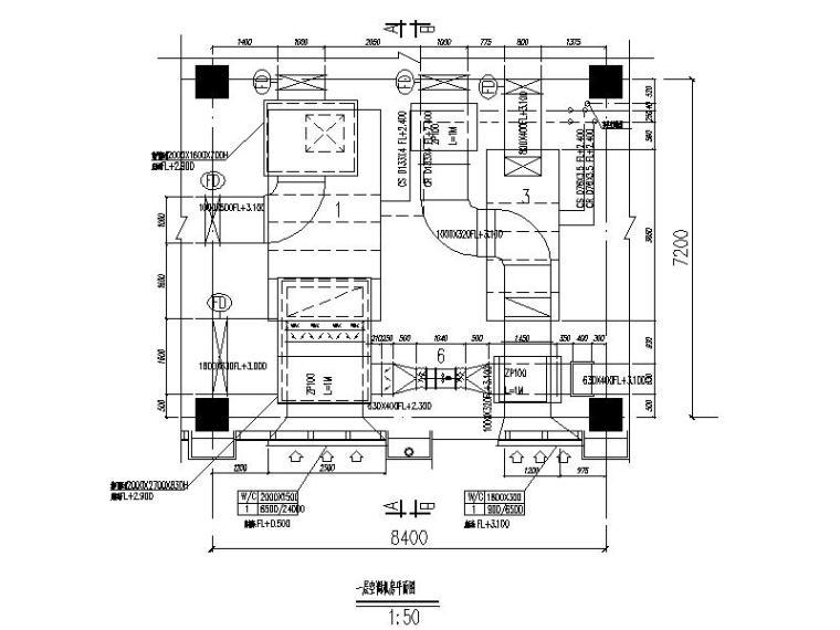 江苏省启东市级机关后勤服务中心—暖通系统施工图