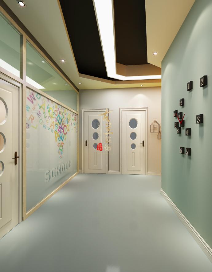成都培训学校装修设计《东方启迪艺术培训学校设计》