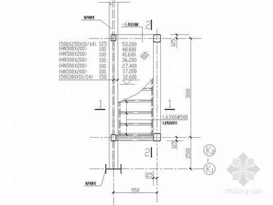锅炉电梯井结构图