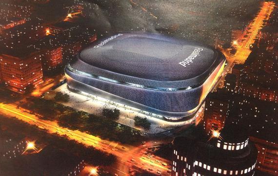 """皇马耗资4亿欧改建新伯纳乌球场,被批像""""电饭煲"""""""