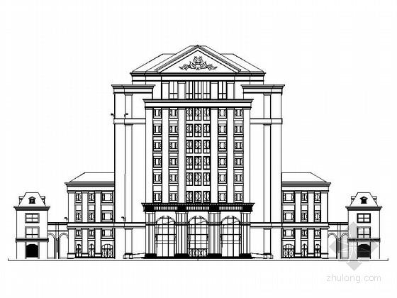 [浙江]知名医科大学图书馆设计施工图(知名设计院)