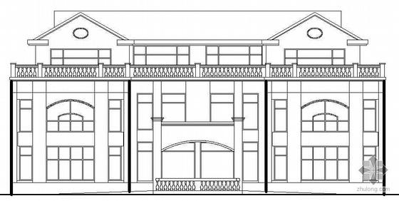 [辽宁]某三层别墅建筑结构水电施工图