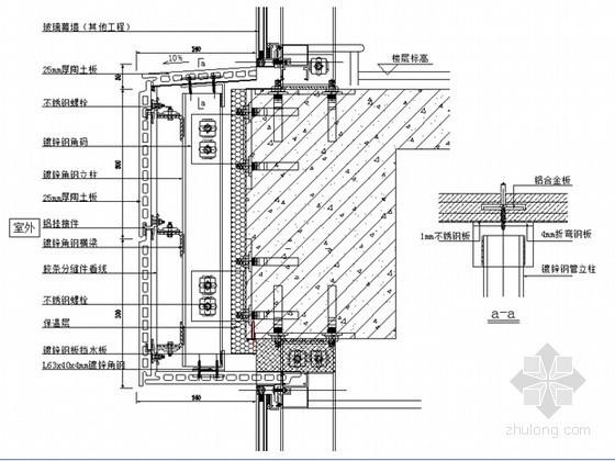 [湖南]框架结构综合服务楼陶土板幕墙施工方案(附图)