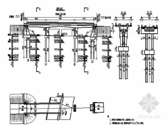 [黑龙江]预应力钢筋混凝土连续箱梁桥施工图63张附花瓶墩计算书