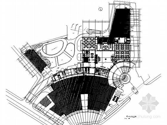 [浙江]风景秀丽山麓高档综合假日四星级酒店设计施工图(含效果)