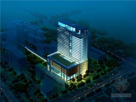 [福建]高层市级医院建筑设计方案文本(含CAD)