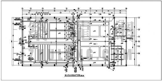 某地表水综合水处理车间全套设计图
