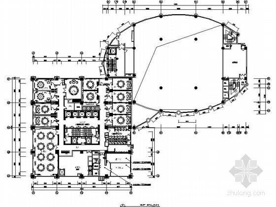 [江苏]某五星级酒店餐饮包厢及小宴会厅室内装修施工图(含效果)