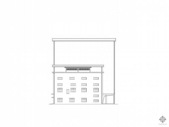 某五层钢结构厂房建筑施工图