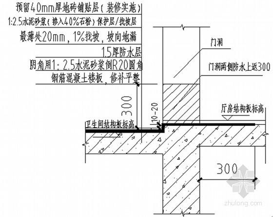 名企编制建筑工程防渗漏防开裂标准做法(详细示意图)