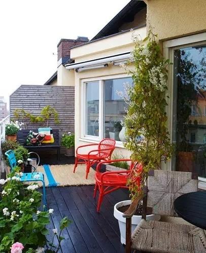 把阳台打造成小花园,八款开放式阳台装修效果欣赏