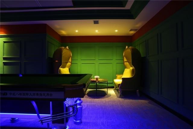 内蒙古英伦 台球·清吧休闲会所设计实景照片精彩呈现
