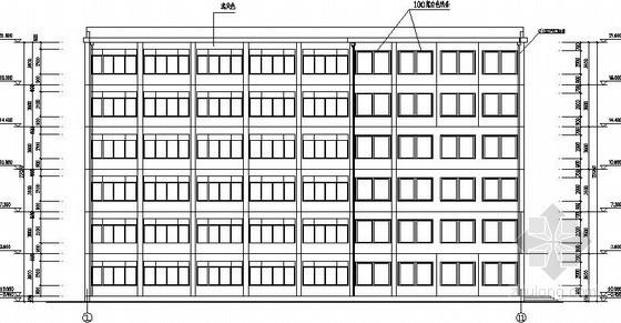 U型社区服务中心楼资料下载-[学士]L型行政办公楼毕业设计全套