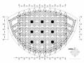 [黑龙江]双曲面管桁架结构大型体育场钢结构屋面结构施工图