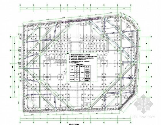 [江苏]11米深基坑排桩加混凝土内支撑支护施工图(附设计方案 计算书)