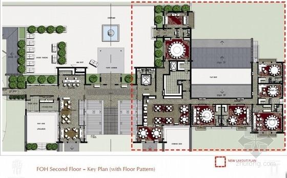 [广西]豪华五星级文化特色别墅式酒店室内设计方案