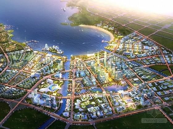 [大连]国际商贸金融中心整体规划及单体建筑设计方案(知名设计院)