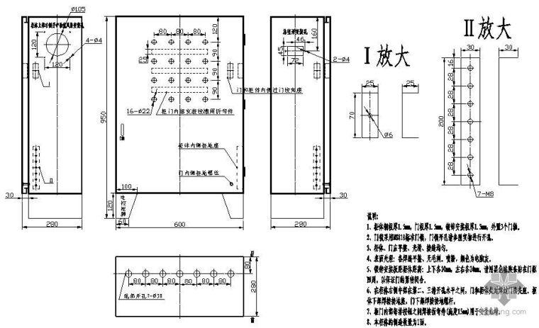 C型连续式升降机电气图纸