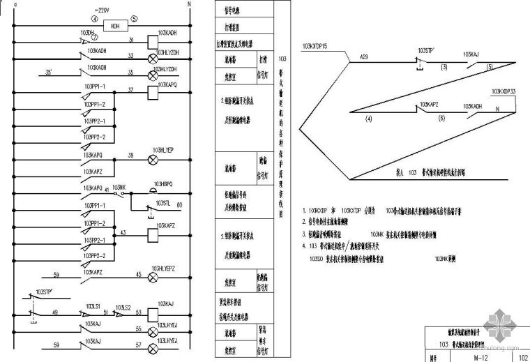 输煤系统皮带电动机电气图纸