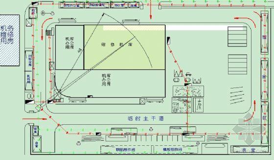 天津某机场直升机维修机库工程施工组织设计