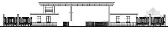 某学校大门建筑方案图